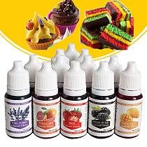 10ML Edible Macaron Cream Food Coloring Ingredients Cake Fondant Baking Cake Color Pigment Baking & Pastry Tools