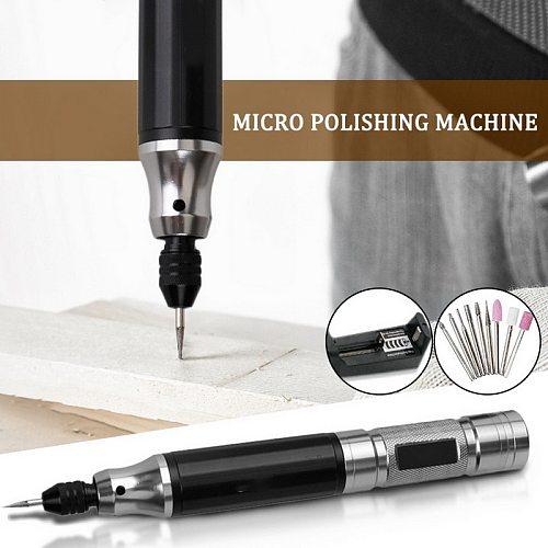 Cordless Drill Bit Tool  Mini Drill New Mini Electric Drill Power Tools Engraver Electric Pen Diy Cutting