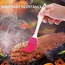 Cake Baking Barbecue Brush Home DIY Silicone Tools Eco-friendly Bread Oil Cream Cooking Brush Silica Gel Brush Kitchen Tool
