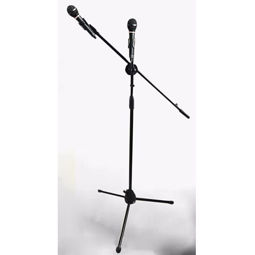 Professional Swing Boom Floor Stand Microphone Holder mic stand Ajustable Stage Tripod Metal