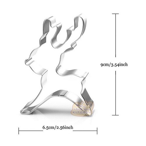 1pcs patisserie reposteria gateau Christmas Reindeer Mold Metal Sugarcraft Cookie Cutter Fondant Cake Decor Biscuit Pastry Mould