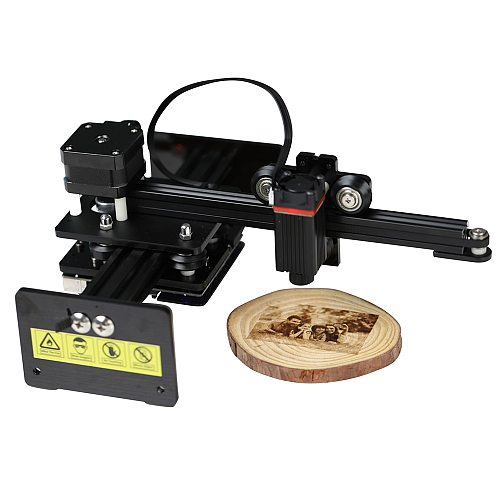 Mini Laser Engraver High Speed Small Engraving Machine Smart Wireless APP Control Support iOS & Android 110*120mm Engraving Area