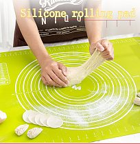 30*40 Silicone Kitchen Kneading Dough Mat Cookie Cake Baking Mat Tools Thick Non-stick Rolling Mats Pastry Accessories Sheet Pad