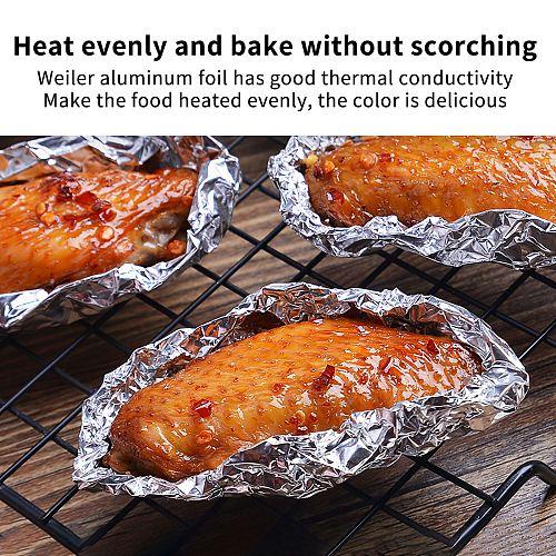 BBQ 30cm*10m 30cm*5m Aluminum Foil High Temperature Aluminum Tin Foil For Kitchen Special Paper For Kitchen Use
