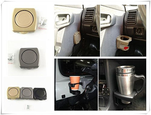Universal Car accessories Foldable Drink bottle Cup holder for Audi Q7 R A3 3-Door I Ah Ah A8 A3 A4 A6 A5