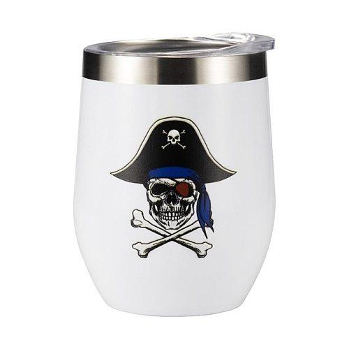 12oz Wine Tumbler Stainless Steel Wine Glasses Wedding Party Beer Cup Vacuum Coffee Mug Thermos Christmas Gift Beer Cup