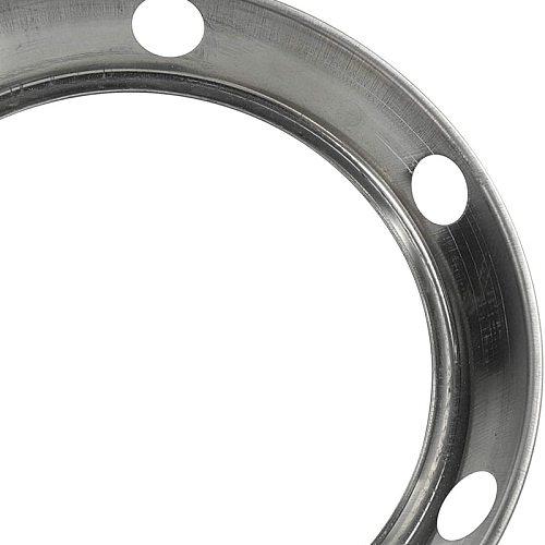 2PCS Stainless Steel Wok Ring/Metallic Round Bottom Wok Rack Universal Size for Gas Stove Fry Pans
