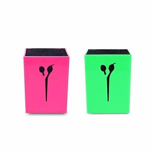 Professional Hairdressing Scissors Holder Stand Case Salon Hairdresser Scissors Storage Box Hair Clips Comb Pot Holder Hot Sale