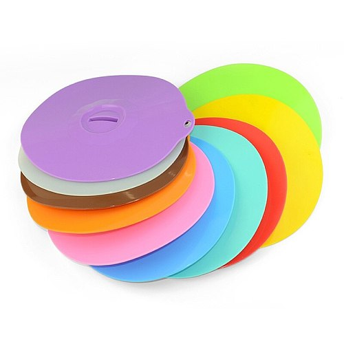 Multifunctional Silicone Bowl Lids Reusable Suction Seal Covers for Bowls Pots Cups Food Safe kitchen accessories