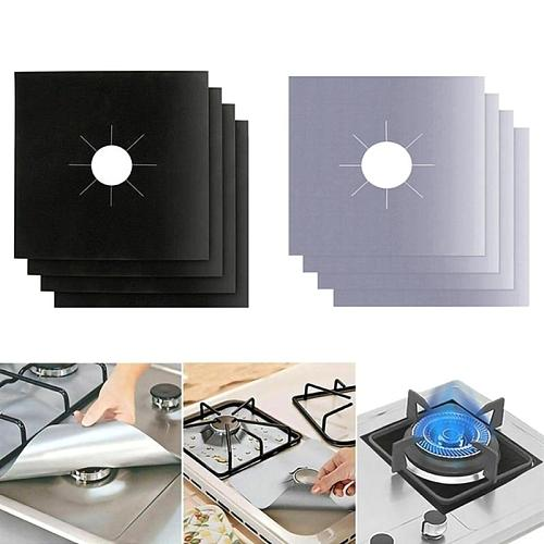 2Pcs/4Pcs Gas Stove Protectors Cooker Cover Liner Clean Mat Pad Gas Stove Stovetop Protector for Kitchen Cookware Accessories