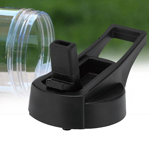 Wide Mouth Loop Flask Portable Durable Cap Drinking Accessories Straw Lid Spout Sport Water Bottle Vacuum Cup For Hydro