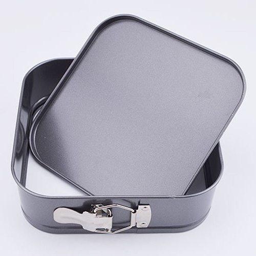 3Pcs/Set Square Shape Cake Tins Mold Non Stick Baking Bake Trays Pan、、、Cake Pan