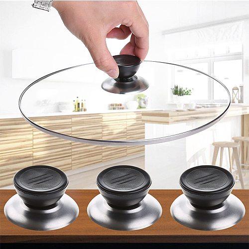 1pcs Universal Kitchen Cookware Replacement Utensil Pot Pan Lid Cover Circular Holding Knob Screw Handle Kitchen Gadget Set