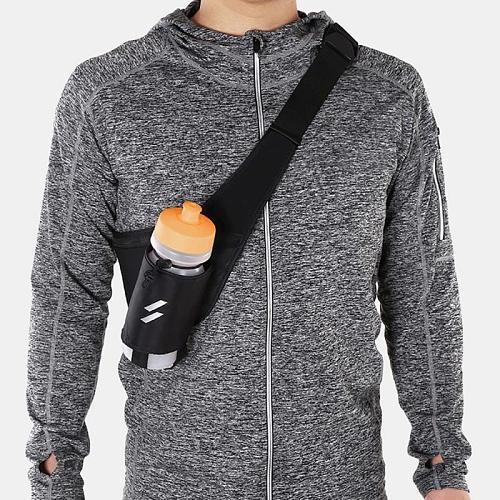 Mountain Bike Bag Water Cup Bag Lightweight Black Sport Bottle Waist Bag For Hiking Running Cycling Climbing Bicycle Accessories
