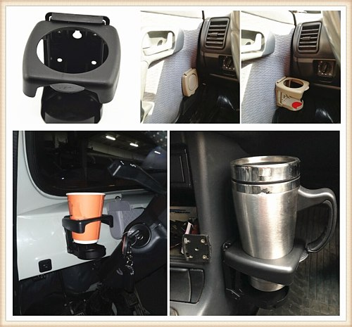 Universal Car accessories Foldable Drink bottle Cup holder for PEUGEOT 207 2006 2007 307 106 206 1998 2000