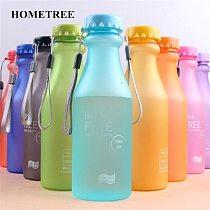 HOMETREE New Sport Water Bottle 550ml Plastic Unbreakable Portable Soda Bottle For Outdoor Sports Running Travel Tea Shaker H379