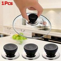 2Pcs Universal Kitchen Cookware Replacement Utensil Anti-scalding Pot Pan Lid Cover Circular Holding Knob Screw Handle Cook Tool