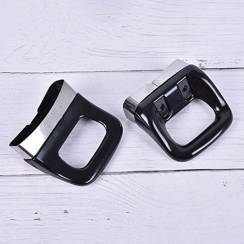 2 Pieces Stainless Steel Bakelite Pot Hot Pot Side Ear Bright Surface Double Hole Easy To Remove The Hot Pot Handle Accessories