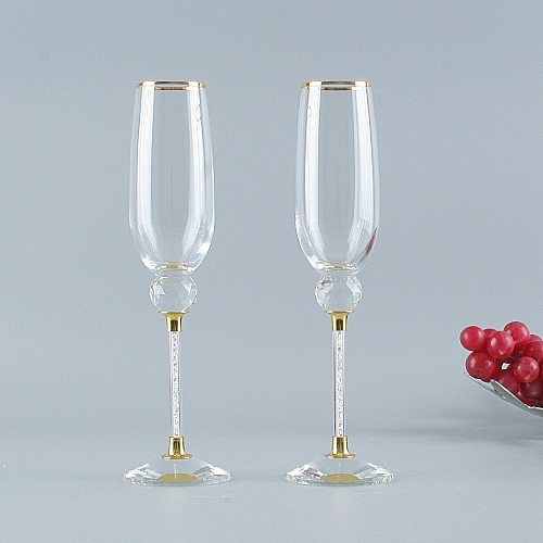 Original Champagne Glass For Drink Wedding Wine Glasses For Wine Valentine's Day Gift Glasses For Boyfriends