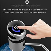 USB Charge Automatic Portable Water Dispenser Drink Dispenser Home Gadgets Water Bottle Pump Mini Barreled Water Electric Pump