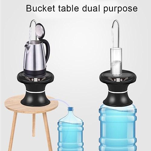 Water Bottle Pump Automatic Drinking Water Dispenser USB Charging Kettle Portable Smart Water Dispenser Teapot Hervidor De Agua