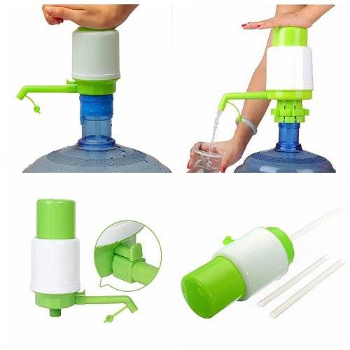 1 set Bottled Water Ideal Hand Press Manual Pump Dispenser Faucet Tool  Approx. 65cm