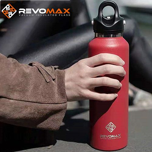 RevoMax HOT Premium Travel Coffee Mug Stainless Steel Thermos Tumbler Cups Vacuum Flask thermo Water Bottle Tea Mug Thermocup