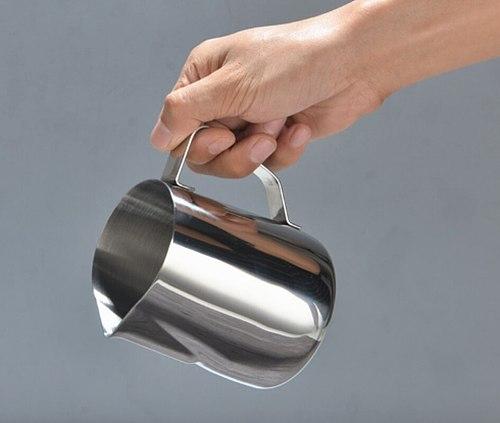 Fantastic Kitchen Stainless Steel Milk jug Espresso Coffee Pitcher Jacquard Barista Craft Coffee Latte Milk Frothing Jug Pitcher
