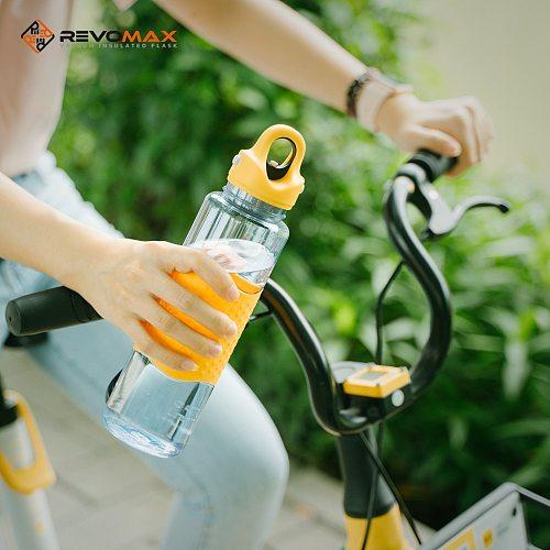 Hot Sports Water Bottle 650ML Protein Shaker Outdoor Travel Portable Leakproof Drinkware Plastic My Drink Bottle BPA Free