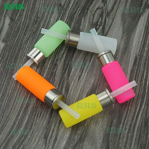 2017 2pcs super soft silicone squonk bottle convenient to squeeze big capacity 8.5ml healthy high quality bottles free shipping