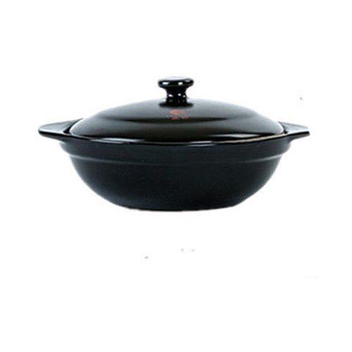 Ceramic Casserole Yellow Braised Chicken Claypot Rice Noodles Open Flame Special Small Shallow Pot Casserole Enamel Pot