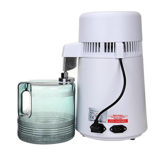 Yonntech 4L 6L Home Pure Water Distiller Filter Water Distille Machine Dental Distillation Purifier Equipment with Plastic Jug