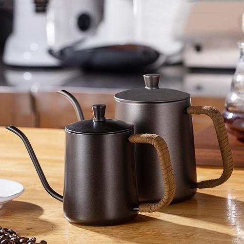 Pour Over Kettle Thin Mouth Anti Scalding Stainless Steel Long Gooseneck Spout Pot for Coffee Maker