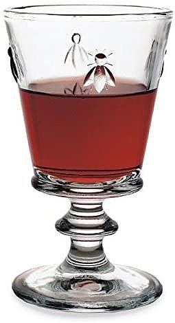 1PCS Bee Motif Stemmed Wine Glasses, Absinthe Glass ,Goblets