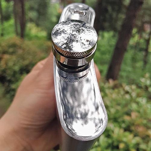 8oz Portable Camping Fishing Men Stainless Steel Whiskey Alcohol Hip Flask