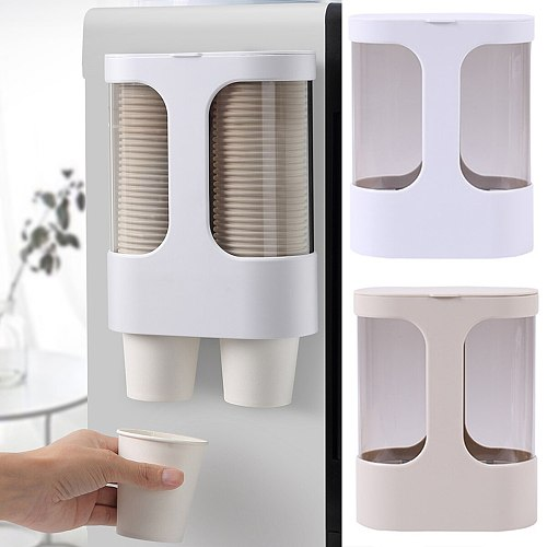 Water Dispenser Cups Holder Disposable Cups Holder Automatic Cups Storage Shelf Sort Out The Paper Cups Automatic Cups Remover