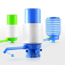 Useful New Portable Bottled Drinking Water Hand Press Removable Tube Innovative Vacuum Action Manual Pump Dispenser