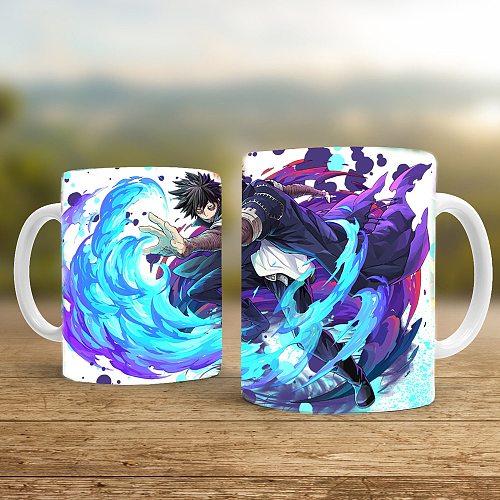 My Hero Academia Dabi 350ml White Ceramic Creative Coffee  Mugs and Christmas Gift Milk Cups