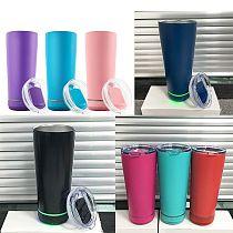 New Fashion 18oz Speaker Music Water Bottle Smart Tumbler Stainless Steel Wireless Music Travel Gift Dropshipping