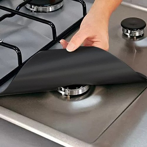 Gas stove anti-oil pad, washable cleaning pad, stove surface protection pad, dirt-resistant and high-temperature pad