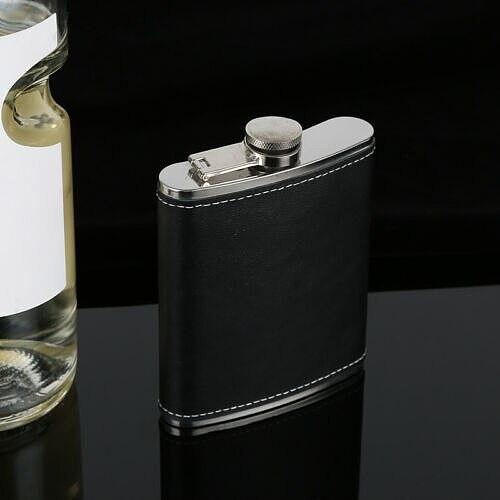 Wine Pot Portable Stainless Steel 9oz Hip Flask Flagon Whiskey Wine Pot Bottle Men Gift
