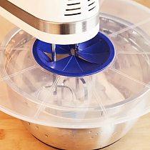 Egg Bowl Whisks Screen Cover Beat Egg Cylinder Baking Splash Guard bowl lids Kitchen waterproof bowl lids