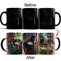 Dead by Daylight Color Changing Ceramic Creative Coffee Mug Magic 11oz Milk Tea Boy Gift Cup and Mugs