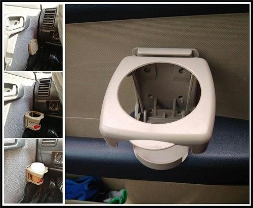 Universal Car accessories Foldable Drink bottle Cup holder for Hyundai Mazda Kia Lada gaz rav 4 2005 2000