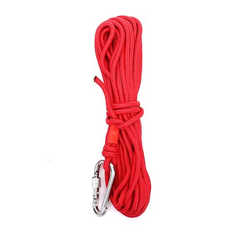 10M Hot New Red Fishing Magnets Rope Strong Search Magnets Fishing Pot Fishing Magnet Rope Dropshipping
