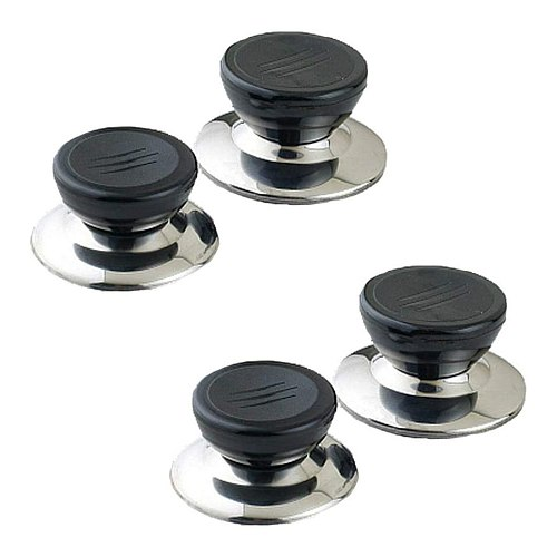 25# 4pc Universal Replacement Kitchen Cookware Pot Pan Lid Hand Grip Knob Handle Cover Pan Lid Handle Kitchen Accessories
