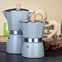 150/300ML Practical Aluminum Coffee Maker Moka Coffee Pot Espresso Percolator Pot  Aluminum Espresso Percolator