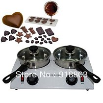 Free Shipping 2.5kg 110v 220v Electric Chocolate Fondue Pot