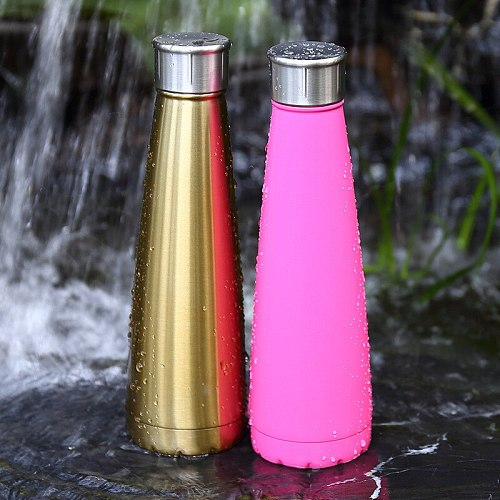 500ml Water Bottles Stainless Steel Vacuum Insulated Cup Outdoor Flask Sport Protein Shaker Drinkware sports hydroflask