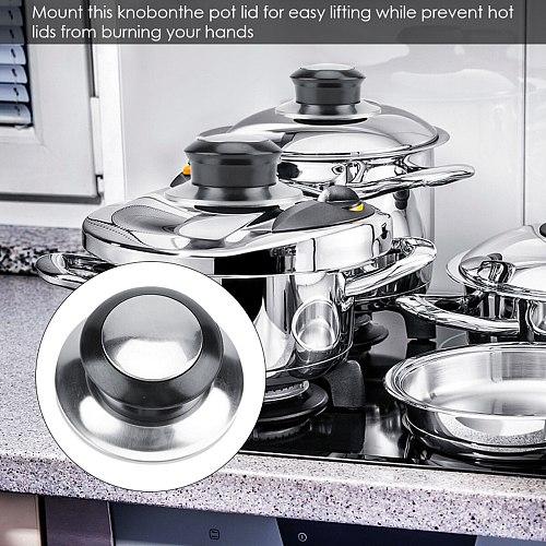 5Pcs Lid Cookware Saucepan Kettle Lid For Cookware Pot Saucepan Kettle Lid Replacement Knobs Cover Holding Handles Pan Part